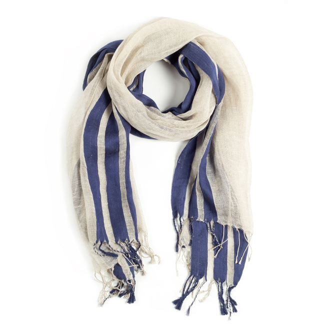 Ribbon Scarf_Navy_1000x1000