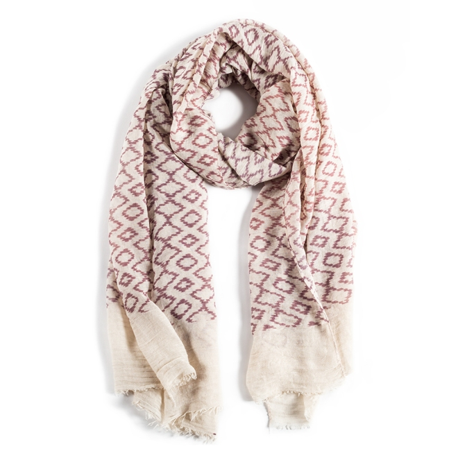Safari Scarf_Natural-Mauve_1000x1000