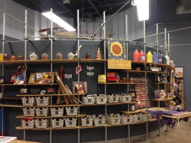 Makery shelves